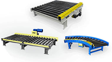 Titan CHAIN DRIVEN LIVE ROLLER CONVEYORS