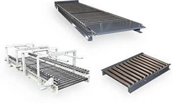 Titan GRAVITY ROLLER Conveyors