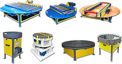 Titan POWERED TURNTABLE CONVEYORS
